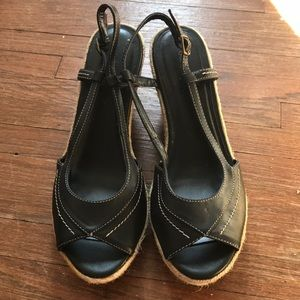 Old Navy Peep Toe Small Wedge